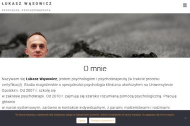 Łukasz Wąsowicz - Psycholog, Psychoterapeuta - Psycholog Opole