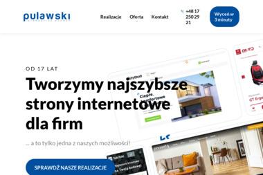 Agencja Interaktywna PULAWSKI - Identyfikacja wizualna Rzeszów