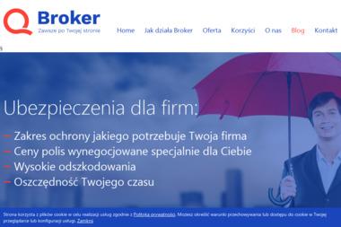 Q Broker Sp. z o.o. - Ubezpieczenie firmy Płock