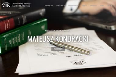 Kancelaria Radcy Prawnego Mateusz Kondracki - Windykacja Nowa Sól