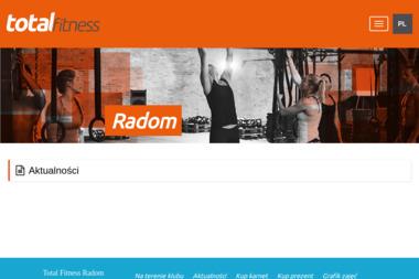 Total Fitness Radom - Trener Personalny Radom