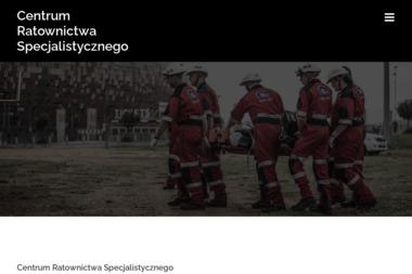 Centrum Ratownictwa Specjalistycznego Dawid Burzacki - Kurs Kwalifikowanej Pierwszej Pomocy Brzeszcze