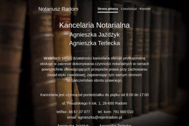 Kancelaria Notarialna - Agnieszka Jażdżyk, Agnieszka Terlecka - Notariusz Radom