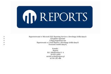 Reports - Programowanie Aplikacji Lublin