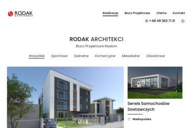 RODAK ARCHITEKCI - Architekt wnętrz Radom
