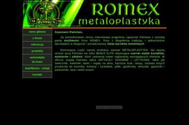 ROMEX - Ogrodzenia kute Toruń