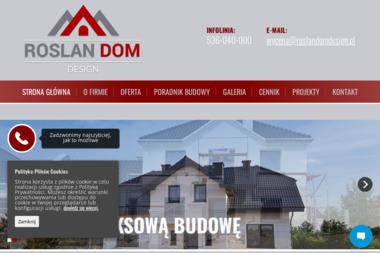 ROSŁAN DOM DESIGN - Architekt Henryków-Urocze