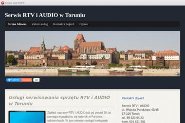 Serwis RTV i AUDIO - Naprawa sprzętu audio Toruń
