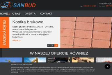 """Przedsiębiorstwo Handlowo Usługowe """"SANBUD"""" - Odśnieżanie Sanok"""