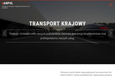 SANPOL - Transport Międzynarodowy Olszanica