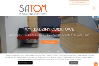 FIRMA WIELOBRANŻOWA SATOM - Wykładziny Opole