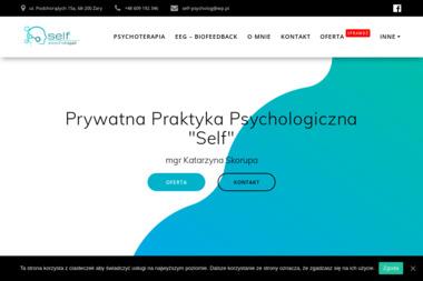 "Prywatna Praktyka Psychologiczna ""Self"" - Psycholog Żary"