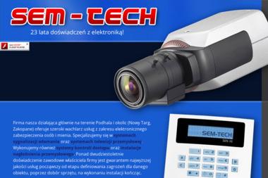 Sem-Tech - Alarmy Nowy Targ