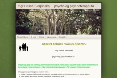 GABINET POMOCY PSYCHOLOGICZNEJ   mgr Halina Sierpińska - Psycholog Mrągowo