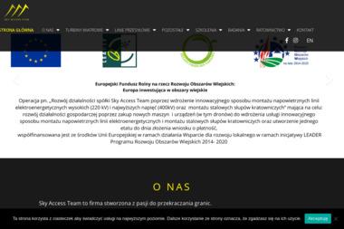 Sky Access Team Prace wysokościowe - Alpinizm Przemysłowy PRUSZKÓW
