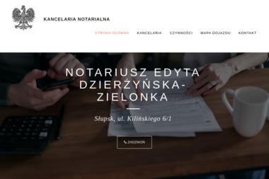 Notariusz Edyta Dzierżyńska-Zielonka - Kancelaria prawna SŁUPSK