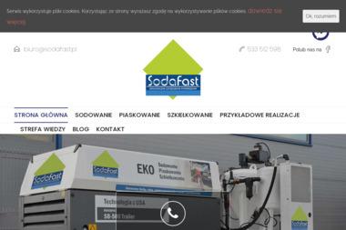 SodaFast - Mycie elewacji Brzeźnio