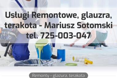 Usługi Remontowe Mariusz Sotomski - Glazurnik Maków Mazowiecki