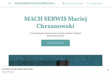 Mach Serwis Usługi Sprzątające - Sprzątanie biur Białystok