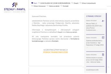 STĘCHŁY i PANFIL Adwokaci i Radcowie Prawni - Adwokat Rybnik