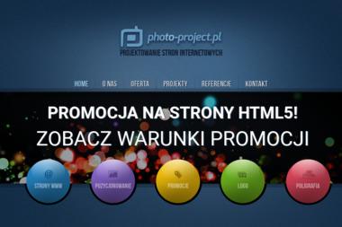Lokalizacja PHOTO-PROJECT - Strony internetowe Zielona Góra