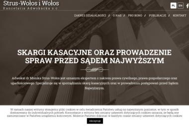 Strus-Wołos i Wołos Kancelaria Adwokacka s.c. - Usługi Prawnicze Grójec