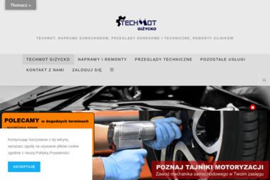 Przedsiębiorstwo Usługowo-Handlowo-Produkcyjne TECHMOT - Obróbka metali Giżycko