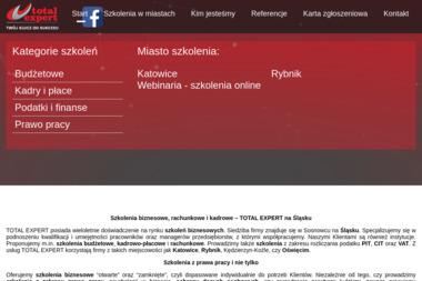 Total Expert - Kurs księgowości Sosnowiec