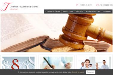 Adwokat Joanna Towarnicka-Górka - Adwokat Prawa Karnego Nowy Sącz
