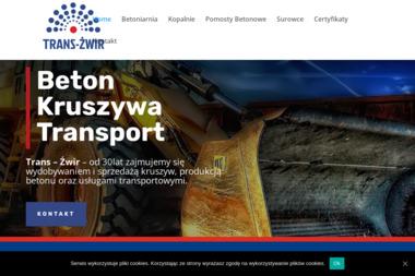 Trans-Żwir Jan Kitowicz - Piasek do Piaskownicy Giżycko
