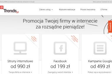 Trends.pl - Strony internetowe Wysokie Mazowieckie