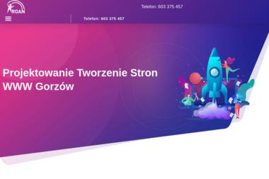ROAN - Strony WWW Gorzów Wielkopolski