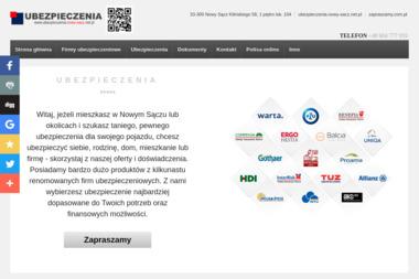 Multiagencja ubezpieczeniowa Jarosław Krzeszowiak - Ubezpieczenie firmy Nowy Sącz