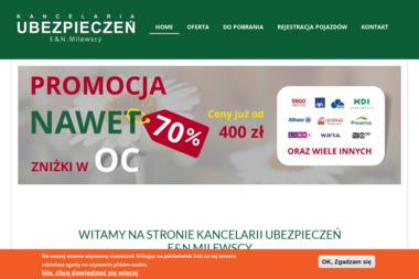 KANCELARIA UBEZPIECZEŃ E&N MILEWSCY - Ubezpieczenie firmy Bolesławiec