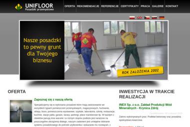 Unifloor Posadzki przemysłowe - Posadzki Bielsko-Biała
