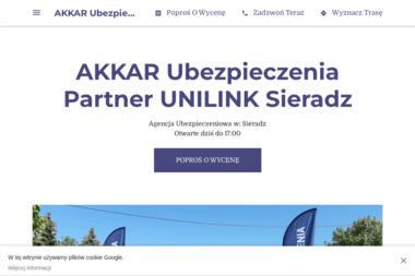 UNILINK  AKKAR  Ubezpieczenia - Ubezpieczenie samochodu Sieradz