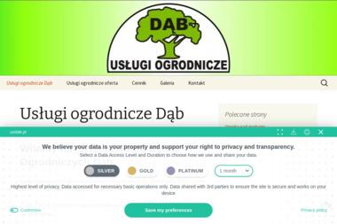 Usługi Ogrodnicze Dąb - Ogrodnik Wolbrom