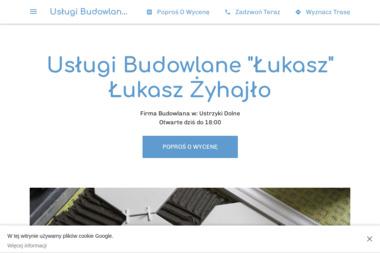 """Usługi Budowlane """"Łukasz"""" Łukasz Żyhajło - Firma remontowa Ustrzyki Dolne"""