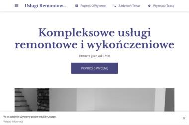 Usługi Remontowo-Wykończeniowe Janusz Starczewski - Remonty mieszkań Wyszków