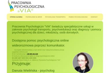 "Pracownia Psychologiczna ""VIA"" - Psycholog Wolsztyn"