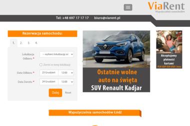 ViaRent - Wypożyczalnia Aut Łódź