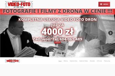 Video-Foto - Videofilmowanie wesel - Wideofilmowanie Białystok