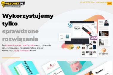 WebOnet.pl – usługi internetowe - Tworzenie Stron WWW Nowy Targ