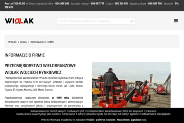 WIDLAK - Wózki widłowe Białystok
