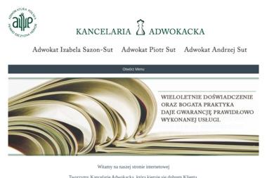 ADWOKAT IZABELA SAZON – SUT - Kancelaria prawna Słupsk
