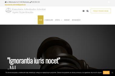 Kancelaria Adwokacka Agata Dyjas-Kuczka - Porady Prawne Mysłowice