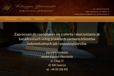 Kancelaria Adwokacka - adwokat Katarzyna Główczewska - Kancelaria Prawna Zawiercie
