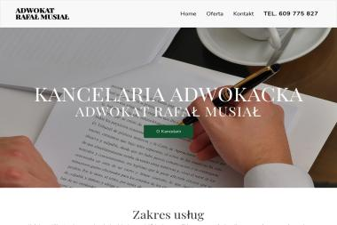 Adwokat Rafał Musiał - Usługi Prawnicze Dąbrowa Górnicza