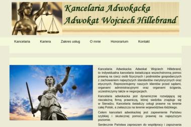 Kancelaria Adwokacka Adwokat Wojciech Hillebrand - Kancelaria prawna Sieradz