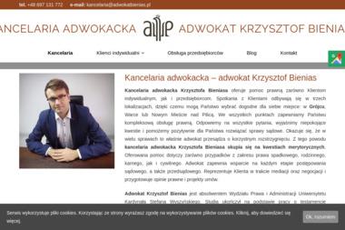 Kancelaria Adwokacka Adwokat Krzysztof Bienias - Adwokat Prawa Karnego Grójec